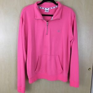 PINK Victoria's Secret 1/2 Zip Up Pullover